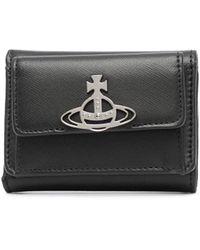 Vivienne Westwood Debbie 財布 - ブラック