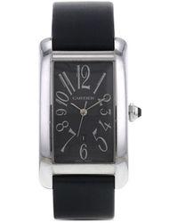 Cartier Reloj Tank Américaine de 27mm 2000 pre-owned - Gris