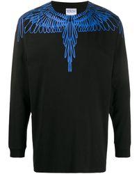 Marcelo Burlon - Sweatshirt mit Flügel-Print - Lyst