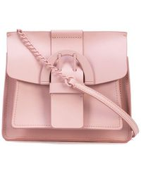 Zac Zac Posen Buckle Cross Body Bag - Pink