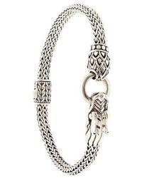 John Hardy - Legends Naga Dragon Station Chain Bracelet - Lyst