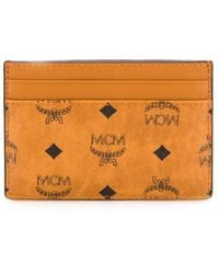 MCM カードケース - ブラウン
