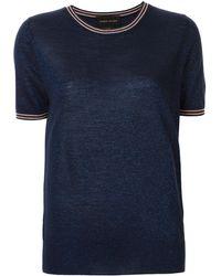 Karen Walker Apollo Tシャツ - ブルー