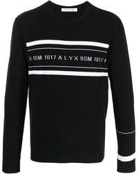 1017 ALYX 9SM Джемпер С Логотипом - Черный