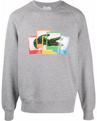 Lacoste ロゴ スウェットシャツ - グレー