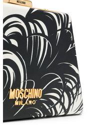 Moschino Мини-сумка С Принтом - Белый