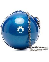 Marine Serre Dream Ball チェーンストラップ ショルダーバッグ - ブルー