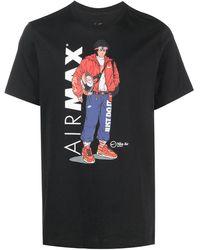 Nike Airmax Printed T-shirt - Black