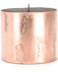 Parts Of 4 Cinnamon Scented Candle - Pink