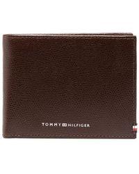 Tommy Hilfiger 二つ折り財布 - ブラウン
