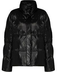 Rains パデッドジャケット - ブラック