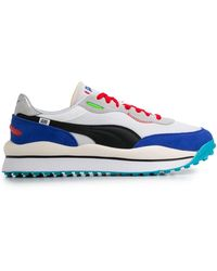 PUMA Style Rider Ride On Trainers - White