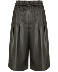 3.1 Phillip Lim Vegan Leather Culottes - マルチカラー