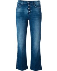 7 For All Mankind Flared Jeans - Blauw