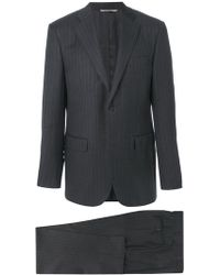 Canali - Classic Drop 6 Pinstripe Suit - Lyst