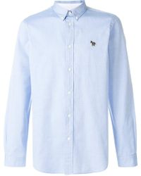PS by Paul Smith - Embroidered Logo Shirt - Lyst