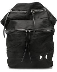 Rick Owens DRKSHDW Oversized Belt Bag - Black