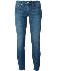 Rag & Bone Skinny Jeans - Blauw