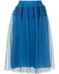 Molly Goddard Eryka チュール スカート - ブルー