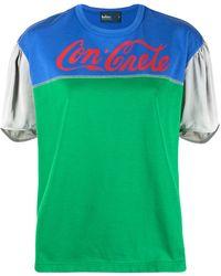 Kolor - Colour-block T-shirt - Lyst