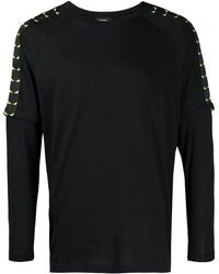 Fendi バッグバグズ Tシャツ - ブラック