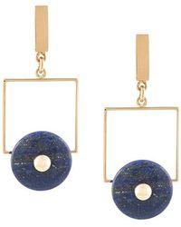 Crystalline - Lapis Lazuli Earrings - Lyst