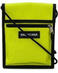 Balenciaga Клатч Explorer - Желтый