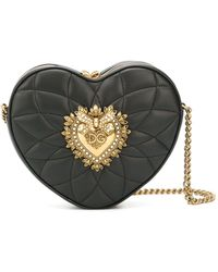 Dolce & Gabbana Сумка Через Плечо Devotion - Черный