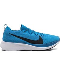 Nike Zoom Fly Flyknit Trainers - Blue
