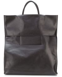 Jil Sander Folded Tote Bag - Brown