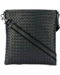 Bottega Veneta Sac porté épaule à design tressé - Noir