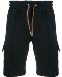 Eleventy - Drawstring Waist Track Shorts - Lyst