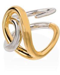 Charlotte Chesnais Gedraaide Ring - Metallic