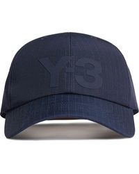 Y-3 リップストップ キャップ - ブルー