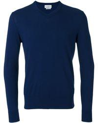 Ballantyne Vネック セーター - ブルー