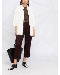 Fabiana Filippi Куртка-рубашка С Бахромой - Многоцветный