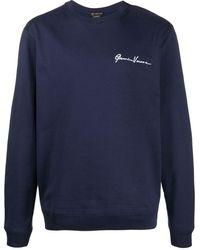 Versace Gv ロゴ スウェットシャツ - ブルー