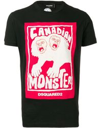 DSquared² - Canadian Monster Tシャツ - Lyst