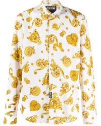 Versace Jeans - プリント シャツ - Lyst