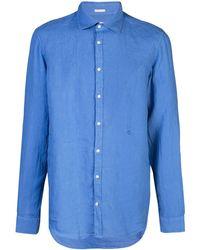 Massimo Alba Canary Shirt - Blue