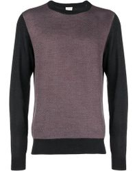 Brioni - Contrast Sleeve Jumper - Lyst