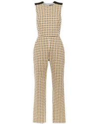 Andrea Marques - Printed Jumpsuit - Lyst