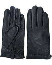Emporio Armani - Handschuhe mit Futter - Lyst