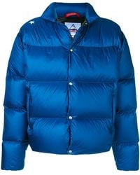 Saucony - Branded Back Padded Jacket - Lyst