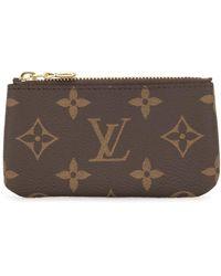 Louis Vuitton Клатч Pochette Cles 2019-го Года - Коричневый