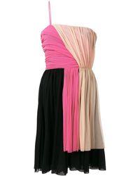 MSGM - カラーブロックドレス - Lyst