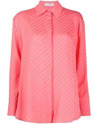 Givenchy ロゴ ストライプ シャツ - ピンク