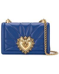 Dolce & Gabbana - Маленькая Сумка Devotion - Lyst