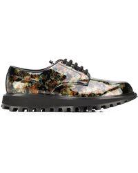 Dolce & Gabbana Zapatos derby con plataforma - Verde