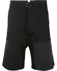 Raf Simons - Shorts vaqueros Workwear - Lyst